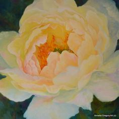 Fragile Charm Part of my blooming ladies series Oil SOLD She smiles so sweetly and greats each morning with a gentle awakening. Impressionist Paintings, Big Flowers, Her Smile, Peonies, Watercolor Art, Abstract Art, Bloom, Charmed, Flower Paintings