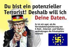 Vorratsdatenspeicherung ist verfassungswidrig!!