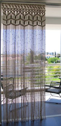 Macrame curtain large custom lace living Room curtain divider room wall hanging bohemian Hollywood decor large macrame wedding backdrop – All For Decoration Bohemian Curtains, Bohemian Decor, Boho Chic, Rideaux Boho, Room Divider Curtain, Room Dividers, Curtain Room, Curtain Partition, Rustic Backdrop