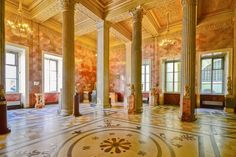 The collection of the St. Petersburg Hermitage includes nearly ten times as many exhibits as the Paris Louvre, Russia