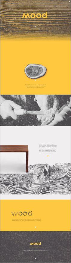 Mood/Wood. love. #branding #website