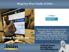 Shung-Toon Woon, Founder of GetDoc #Entrepreneur #Entrepreneurs  #Business #Entrepreneurship  #CallumConnects #Asia #Asian #Interviews  callumlaing.com