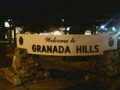 Granada Hills, Calif. in the San Fernando Valley