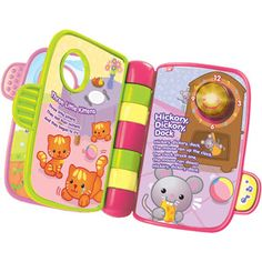 VTech Storytime Rhymes Book, Pink