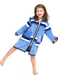 dc9b785a9b Children s Luxe Beach  amp  Swim Robe. Plush towelling. Blue. Order online.