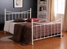 Alderley Ivory Metal Bed Frame