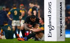 Rugby World Cup Semi- Finals NZ vs. RSA