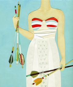 Archer PRINT by JessicaRaeGordon on Etsy, $16.00