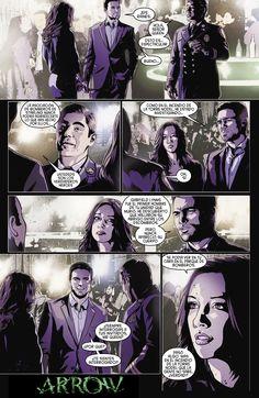 Cap. #10 cómic oficial Arrow.