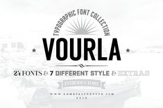 Vourla Font Collection by ahmetaltuntype on @creativemarket