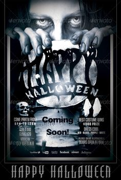 Halloween Flyer/Poster Template