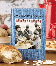 Celebrate the anniversary of the Civil War with recipes from the era. This cookbook is a remarkable anthology of actual Civil War recipes taken from century women's magazines. Delight in extra facts about Confederate and Union army rations Victorian Recipes, War Recipe, Recipe Drawing, Food Substitutions, Ltd Commodities, Hot Cross Buns, Lakeside Collection, Vintage Plates, Cookbook Recipes