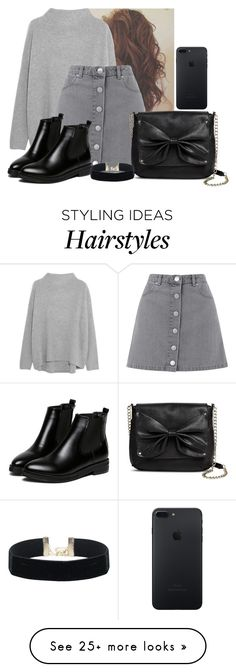 """Untitled #4142"" by hannahmcpherson12 on Polyvore featuring Vince, Miss Selfridge, WithChic and Sam & Libby"