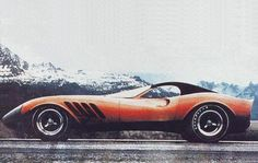 1969 Tom Meade Thomassima III, built on a Ferrari 250 GT chassis. Roof photoshoped.