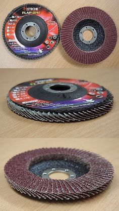 Grinding Wheels and Accessories 79703: Lot Of (40) Aluminum Oxide Flap Disc Grinding Wheel 4-1 2 X7 8 , 60 Grit -> BUY IT NOW ONLY: $41.99 on eBay!