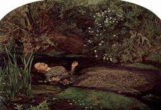 Opheila, 1851–1852 John Everett Millais Oil on canvas Tate Britain