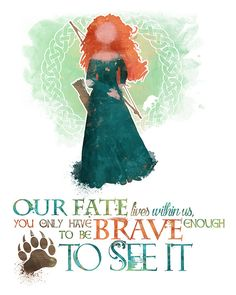 Merida Brave 8x10 Poster DIGITAL DOWNLOAD by LittoBittoEverything