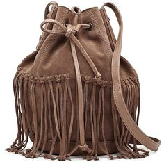 Witchery Mabel Fringe Bag ($88) ❤ liked on Polyvore featuring bags, handbags, shoulder bags, accessories, purses, bolsas, bolsos, cosmetics, tassel purse and brown fringe purse