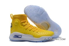 6ade683223a9 Under Armour Curry 4 Warriors Yellow Top Deals