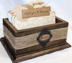 Hey, I found this really awesome Etsy listing at https://www.etsy.com/listing/265214310/recipe-box-tan-recipe-dividers-neutral