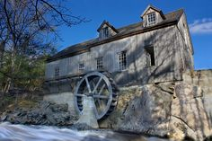 Tigney River Mill, Sable River, Nova Scotia, Canada