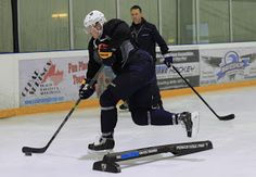 Jarret Reid training Zac Dalpe of the Buffalo Sabres in Burlington. Hockey Training, Pro Hockey, Buffalo Sabres