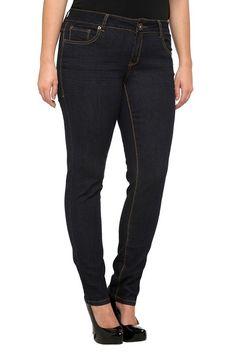 Torrid Denim - Sophia Blue Rinsed Skinny Jeans #IAmTorrid