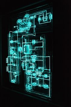 Electronic Circuitry Gets A TRON-Style Makeover In Mabonona's Maze | The Creators Project