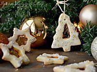 Biscotti di Natale con vetrino