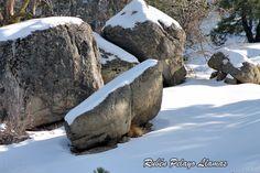 Rocas nevadas