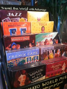 Putumayo Music is a Collection of music from around the world. Available NOW @ Cheeks
