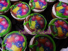 cupcakes bayardigan...dulzura hecha pastel