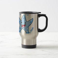 North Carolina - Waves Travel Mug - home decor design art diy cyo custom