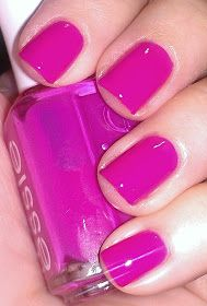 """The perfect #pink, """"Secret Story"""" by #Essie! // Hard-Lacquer Blog- #NailPolish"""