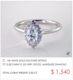 0113f2bed Custom Engagement Rings Under $2000 - James Allen Edition. 2000 Engagement  RingBest ...