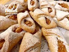 Margarinsiz Kek Gibi Yumuşacık Elmalı Kurabiye