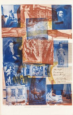 """Robert Rauschenberg. """"Centennial Certificate"""", Metropolitan Museum of Art, New York, 1969.""""Treasury of the conscience of man. Masterworks collected, protected and celebrated commonly. Timeless in concept the museum amasses to concertise a moment of pride serving to defend the dreams and ideals apolitically of mankind aware and responsive to the changes, needs and complexities of current life while keeping history and love alive."""""""