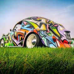 [ Volkswagen Beetle Graffitti ]