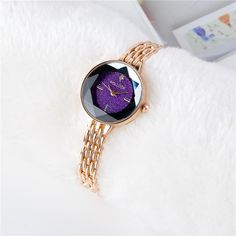 Fashion Womens Watches Trendy Rose Gold Thin Strap Colorful Dial Quartz Minimalist Watches for Women is hot-sale, waterproof watches, bracelet watch, and more other cheap women watches are provided on NewChic. Cheap Luxury Watches, Women's Dress Watches, Casual Watches, Nice Watches, Elegant Watches, Women's Watches, Rose Gold Watches, Seychelles, Violet