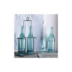 Wire Drink Caddy | west elm ($19) found on Polyvore