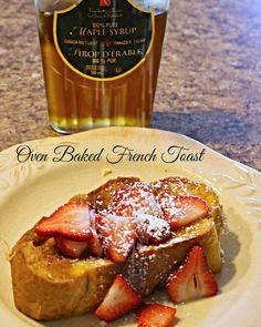 Jenn's Random Scraps: Oven Baked French Toast