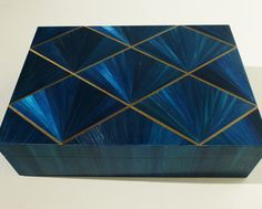 Straw Marquetry Box #1