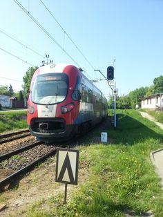 Warsaw light train WKD