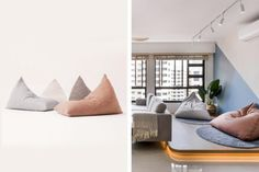 Trendy and Affordable: 12 Furniture Pieces To Get on Shopee | Qanvast Settee Sofa, Trendy Furniture, Interior Design Living Room, Floor Chair, Living Room Furniture, Bean Bag Chair, Minimalist, Layout, Home Decor