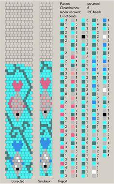 9 around | 70 схем вязания крючком жгутов на 9-10 бисерин / Вязание с бисером / Biserok.org