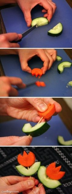 No recipe or instructions, just a neat idea.