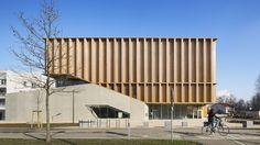 Gymnase à Neudorf   Atelier Zündel Cristea