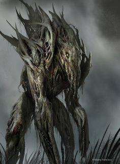 fantasy horror art | Creature Spot - The Spot for Creature Art, Artists and Fans