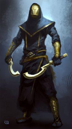 ArtStation - Dark assassin, Rob Joseph