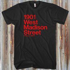 Chicago Shirt Men's Chicago Basketball and Hockey Stadium - T-shirt - XS S M L XL 2x 3x 4x - Chicago Sports Shirt - 4 Colors - CBHS